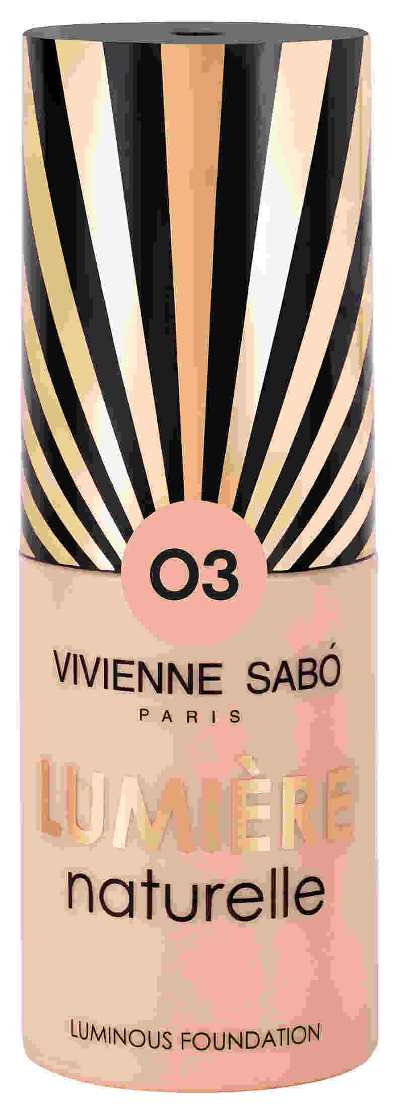 Vivienne Sabo - Luminous Foundation Lumiere Naturelle, 25 ML